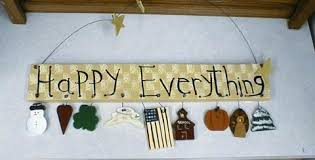 happy everything sign brushworks
