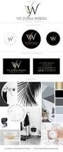 wedding planner business card premium branding package luxury gold black logo hair salon