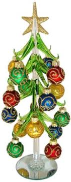 carpet studios miniature glass tree with