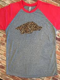 razorback raglan razorback tee arkansas shirt arkansas