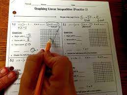 graphing linear inequalities practice 1 youtube
