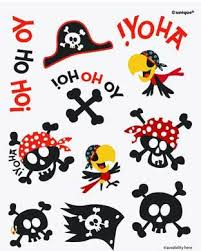 pirate party pirate party temporary tattoos pirate party supplies