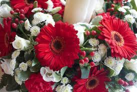 Red Wedding Bouquets Red Wedding Flowers Laurel Weddings