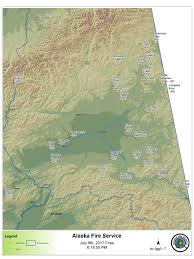 Yukon River Map Wind Shift Brings Smoke From Northeastern Fires To Other Parts Of