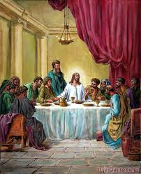 the last supper painting print