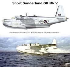 short sunderland gr mk v wwii aircraft profiles u0026 pictures