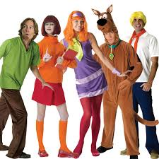 Sleazy Halloween Costumes Scooby Doo Gang Halloween Costumes Group Halloween Costume