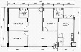 Floor 54 by Floor Plans For Simei Street 4 Hdb Details Srx Property