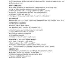 Resume Template For Receptionist Receptionist Resume Template Free Resume Template And