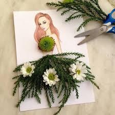 bouquet en papier creative fashion dresses compositions u2013 fubiz media
