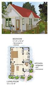 bungalow house plan 56581 total living area 516 sq ft 1