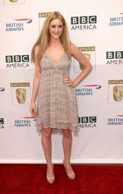 madeline zima brown cream dress th annual bafta fernsehen tea
