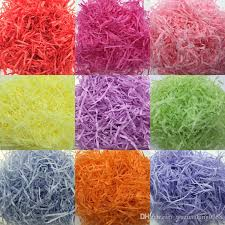 gift wrapping accessories 50g 500g diy gift packing accessories shredded paper