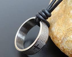 men s religious jewelry mens christian ring etsy