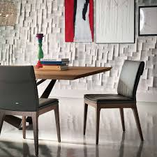 tosca side chair by cattelan italia yliving tosca side chairs with skorpio wood dining table