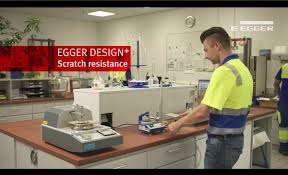 Laminate Flooring Scratch Resistant Egger Design Flooring Scratch Resistance Test Youtube
