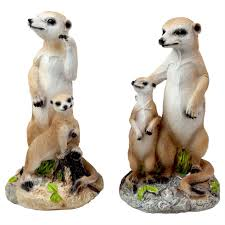 realistic 15cm meerkat garden ornaments choose design gardens2you