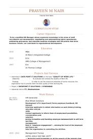 Employee Engagement Resume Hr Generalist Resume Samples Visualcv Resume Samples Database