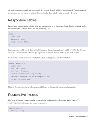 Bootstrap Table Width Bootstrap A Sitepoint Anthology 1 Editor Adrian Sandu Publishe U2026
