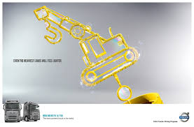 volvo trucks philippines volvo print advert by master roma waiteman forklift ads of the