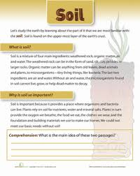 what is soil worksheet education com