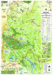 East Africa Map East Africa Maps No 5 Uganda U0027s Gorilla Highlands Freytag