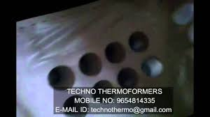 thermoforming glass machine youtube