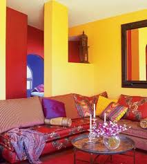 moroccan interior moroccan interior home designs with yellow and red walls