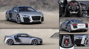 Audi R8 Silver - audi r8 v12 tdi concept 2008 pictures information u0026 specs