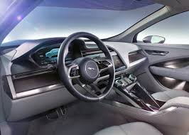 jaguar cars interior jaguar reveals the i pace concept the electric performance suv