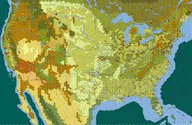 Map Of North America Map by Has Anybody Done A Soft Hex Map Of North America