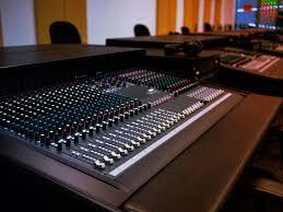 Recording Studio Mixing Desk by The Los Angeles Recording Campus The Los Angeles