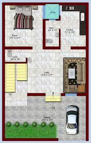 breathtaking 3 house plans for 25x50 site 25a50 house plan south