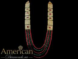 earring necklace ruby images Kundan ruby and emerald gold plated long necklace and earrings set jpg