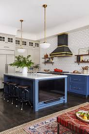navy blue kitchen cabinet design navy blue kitchen design home bunch interior design ideas
