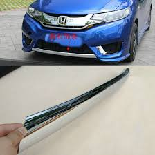honda jazz car cover fit for 2014 2015 honda jazz fit chrome front lower bumper cover