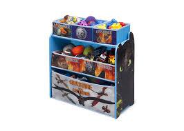 toy organizer how to train your dragon multi bin toy organizer delta