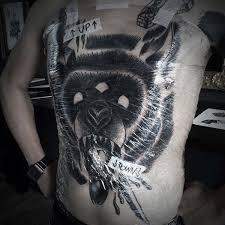 60 bear tattoo designs for men masculine mauling machine