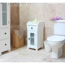 Small White Bathroom Cabinet Amazing Small Bathroom Storage Cabinets White At