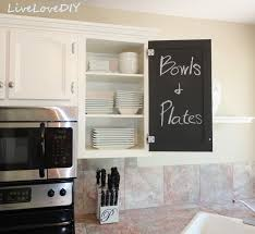 kitchen cabinet chalk paint makeover creative home