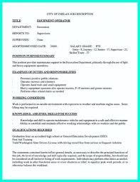 light equipment operator job description cnc operator resume sle machinist template skills for job nursing