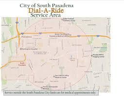 pasadena ca map city of south pasadena a ride