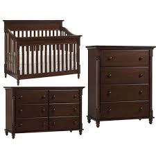 convertible crib set europa baby cameron convertible crib furniture set chocolate