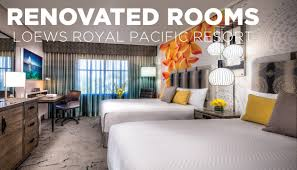 rennovations new room renovations loews royal pacific resort youtube