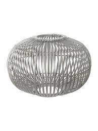 silver pendant light shade bamboo pendant light shade grey silver