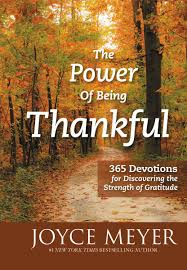 the power of being thankful ebook by joyce meyer 9781455517343