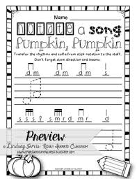 music worksheets for halloween ready set print by lindsay jervis