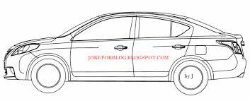 nissan sunny white nissan sunny 3 indian autos blog