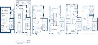 floor luxury townhome floor plans