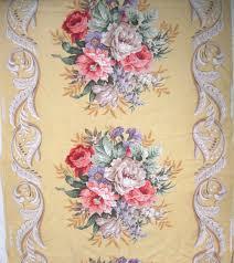 Vintage Drapery Fabric Sharon U0027s Antiques Drapery U0026 Upholstery Fabrics